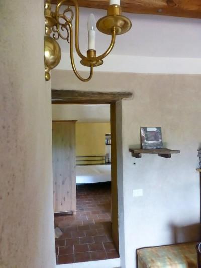doorkijk naar slaapkamer eerste verdieping