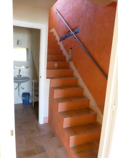 Vakantiehuis la casa vecchia somano genieten in piemonte - Binnen trap ...