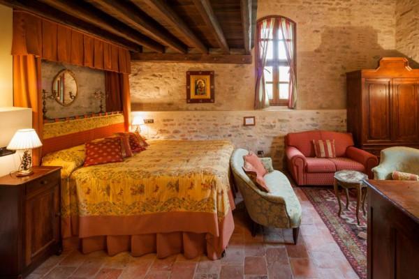 castello di sinio slaapkamer
