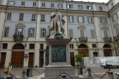 Turijn achterzijde Palazzo Carignano