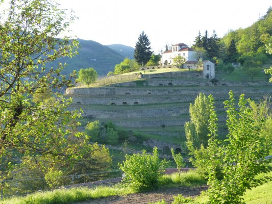 terrassenbouw en huis