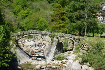 Piedicavallo wandeling brug