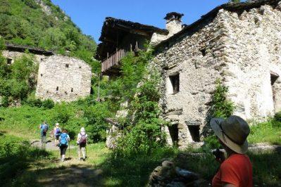 wandeling Valle Maira met boerderij