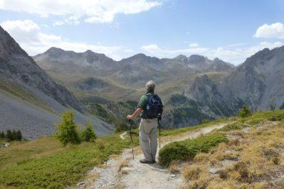 zicht op Altopiano della Gardetta